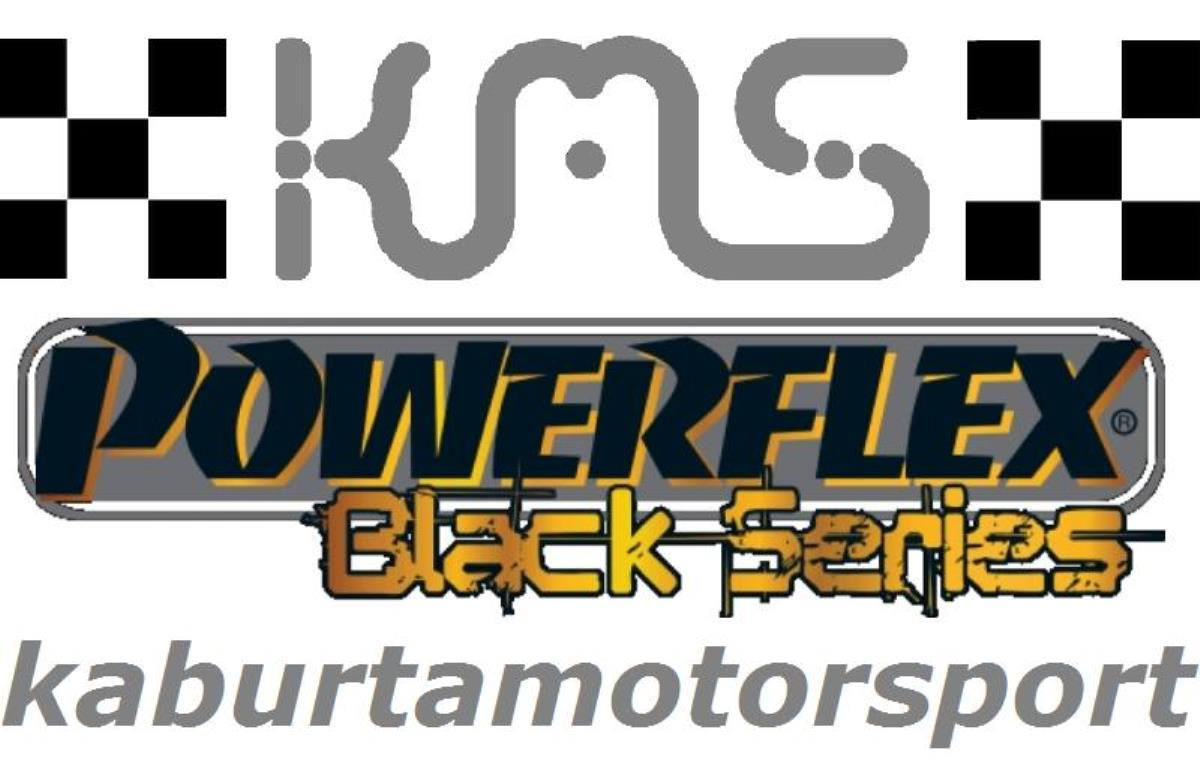 PFF76-602BLK SUPPORTI POWERFLEX BLACK  Toyota Supra 4 JZA80 (1993-2002),2 - 2